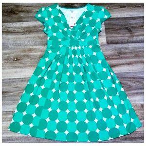 🆕 Motherhood Maternity Green Polka Dot Dress